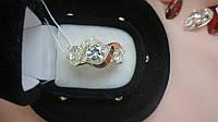 Кольцо из серебра с золотом Дева, фото 1