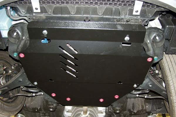 Защита картера (двигателя) и Коробки передач на Митсубиси Аутлендер 3 (Mitsubishi Outlander III) 2014 - ... г