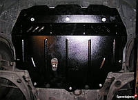 Защита радиатора, двигателя, КПП и раздатка на Митсубиси Паджеро Спорт 2 (Mitsubishi Pajero Sport) 2008-2016 г