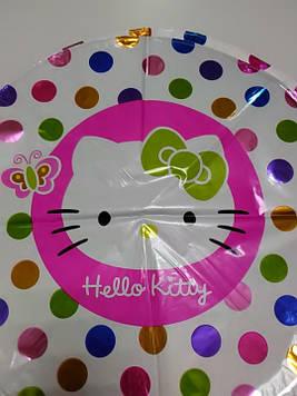 Гелиевый фольгированый шарик с рисунком Китти