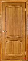 Межкомнатные двери Капри светлый дуб ПГ