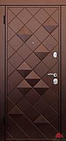 Входная дверь Ромб-В софттач винный