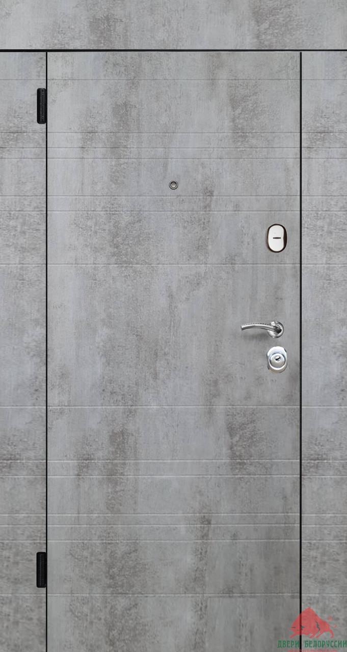Входные двери Некст бетон пепельный