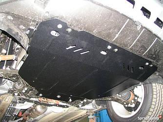 Защита картера (двигателя) и Коробки передач на Ниссан Навара D40 (Nissan Navara D40) 2005-2015 г (металлическая/клепалки)
