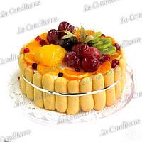 Гель для покрытия тортов абрикосовый «LAPED», 5 кг