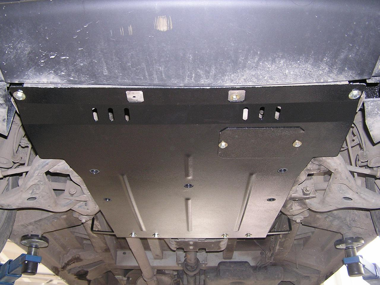 Защита картера (двигателя) и Коробки передач на Ниссан Патрол (Nissan Patrol) 2010 - ... г