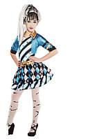 Костюм Monster High Дочь Франкенштейна для девочки 4-6 лет