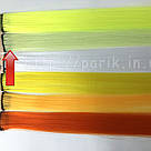🍈 Фисташковый шартрез, цветные пряди волос на заколках клипсах 🍈, фото 3
