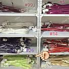 🍈 Фисташковый шартрез, цветные пряди волос на заколках клипсах 🍈, фото 10