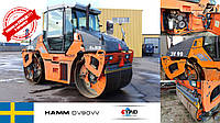Дорожный каток Hamm DV90VV 2011 года выпуска с наработкой 7705 м.ч уже приехал на склад в Черновцы!