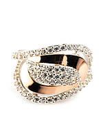Серебряное кольцо с золотом Юлия