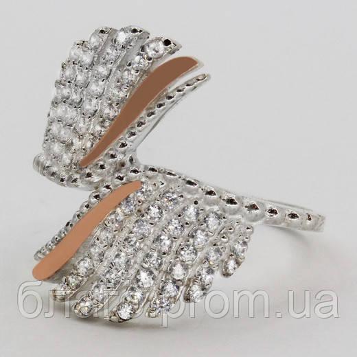 Кольцо серебро Ева
