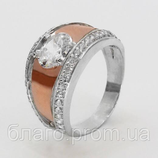 Кольцо серебро Верона