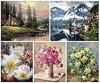 Необычные картины своими руками  – рисуй раскраски Mariposa 50х65 см