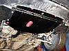 Защита радиатора, двигателя и КПП на Опель Виваро (Opel Vivaro) 2001-2014 г (металлическая/2.5), фото 3