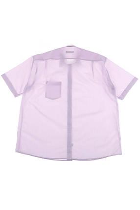 Рубашка мужская однотонная, классический воротник 50P0300 (Сиреневый), фото 2