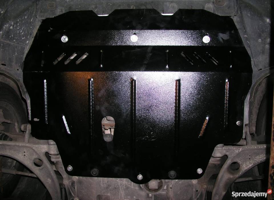 Защита картера (двигателя) и Коробки передач на Пежо 206 (Peugeot 206) 1998-2012 г (металлическая/седан)
