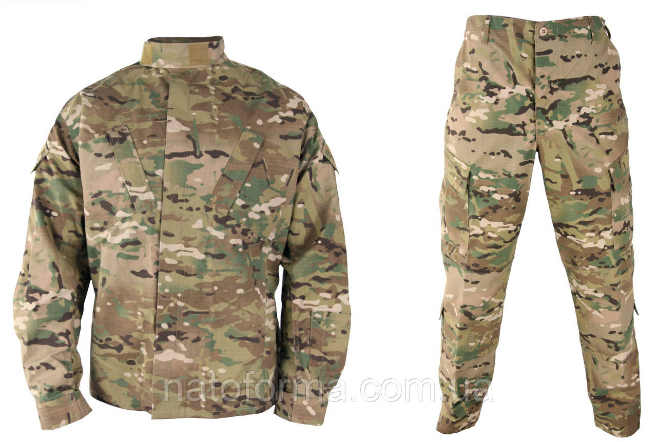 Комплект униформы Multicam ACU, армия США, оригинал, M/Xlong