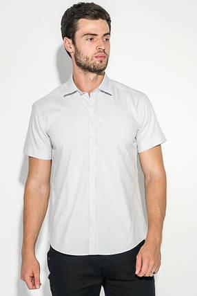 Рубашка мужская потайная застежка 50P2050 (Стальной), фото 2