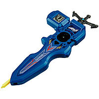 Takara Tomy Beyblade Burst B-93 Digital Sword Launcher  Blue.Синій запуск. (Бейблейд Запуск)