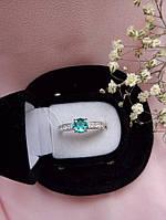 Серебряное кольцо Тристар с камнями, фото 1