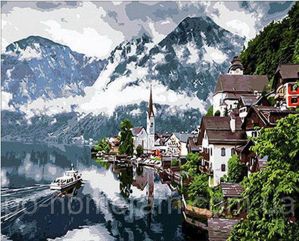 Картина Швейцарские Альпы