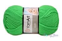 YarnArt Baby, ярко-зеленый №8233