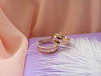 Обручальное кольцо с золотом Секрет, фото 1