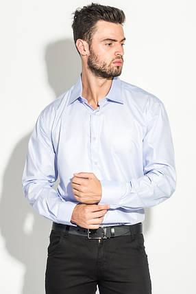 Рубашка мужская длинный рукав 50P3148-8 (Светло-сиреневый), фото 2