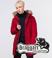 Куртка зимняя молодежная Braggart Youth - 25690 красная