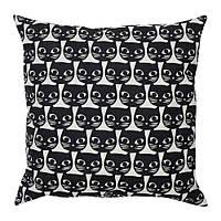 GERDIE подушка с котиками, ч/б, фото 1