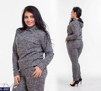 Женский прогулочный осенний костюм (батал)