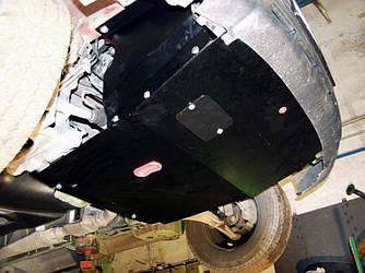 Защита картера (двигателя) и Коробки передач на Рено Трафик 2 (Renault Trafic II) 2001-2014 г (металлическая/1.9)