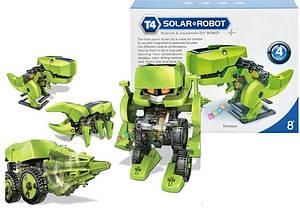 Конструктор динозавр 4 в 1- робот на солнечных батареях Гарантия качества Быстрая доставка