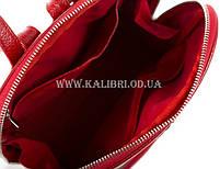 Распродажа! Женский кожаный рюкзак Karya 0782-46 красный, фото 5