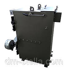 Твердотопливный котел на дровах 25 кВт DM-STELLA (двухконтурный), фото 3