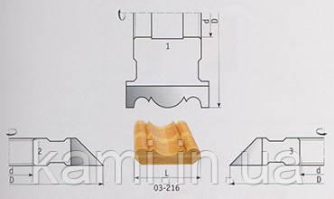 Комплект фрез для изготовления плинтуса 2