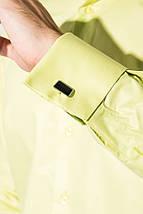 Рубашка мужская c запонками 50PD0020 (Салатовый), фото 3