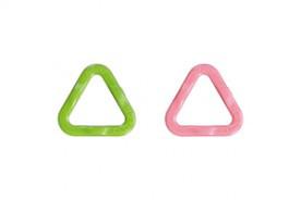 Треугольные маркеры петель Медиум Clover 12 шт для спиц до №5