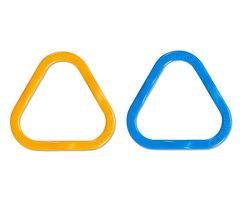 Треугольные маркеры петель Медиум Clover 12 шт для спиц до №6,5