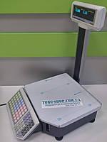 Весы с чекопечатью ШТРИХ-Принт М 15-2.5Д1 с нижней клавиатурой (Ethernet)