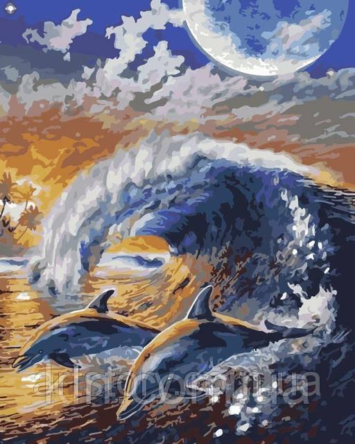 Картина по номерам ArtStory По волне 40 х 50 см (арт. AS0173)