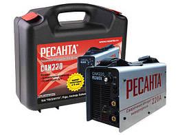 Сварочный аппарат инверторный САИ 220 в кейсе Ресанта 65/22