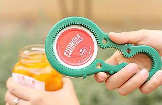 Електричний консервний ніж з протиковзким кільцем для відкривання