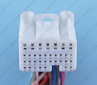 Разъем электрический 34-х контактный (24-17) б/у 12144