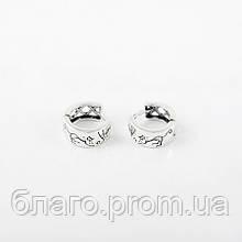 Срібні сережки 925 проби Котомафия - Котики