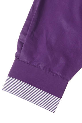 Рубашка мужская батал 50PD3355 (Темно-фиолетовый), фото 2