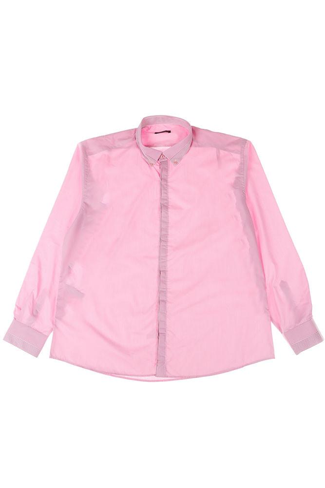 fb5d8bfc95ea2bc Рубашка Мужская Батал 50PD3355 (Розовый) — в Категории