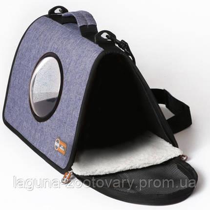 K&H Lookout сумка-переноска для собак и кошек , светло-синий , S , фото 2