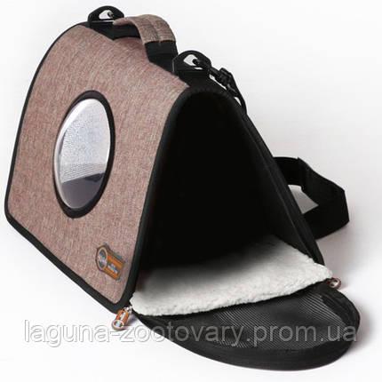 K&H Lookout сумка-переноска для собак и кошек , шоколадный , L , фото 2